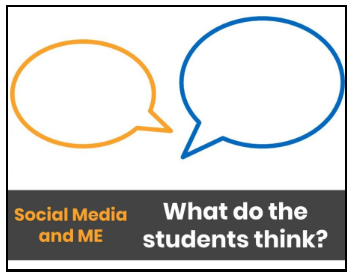 Social Media and ME: What do the students think?