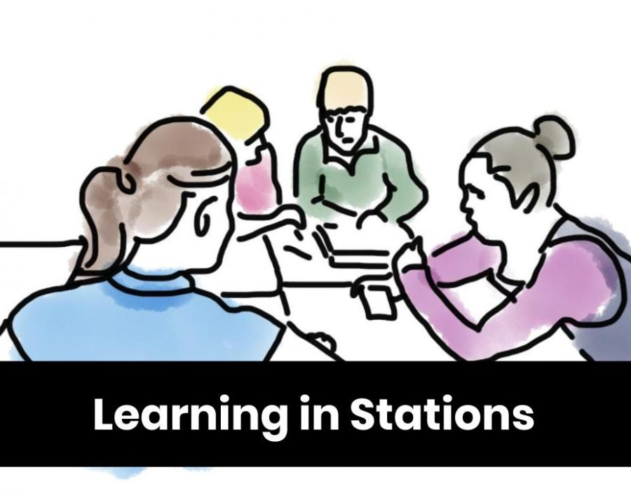 Learning in Stations