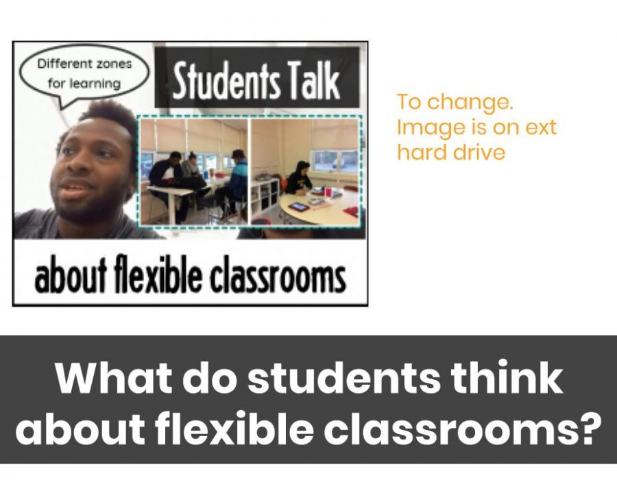 students talk about flexible learning environments